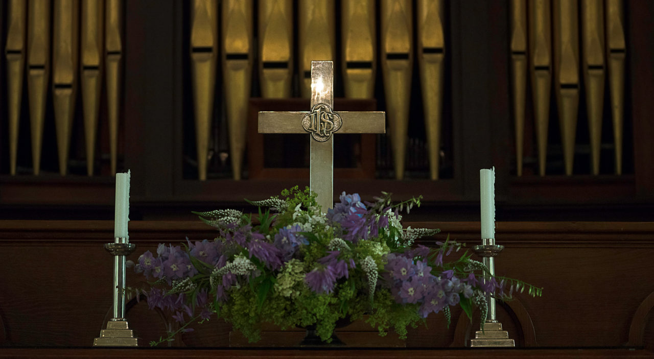 2016 – Altar Flowers – Purple