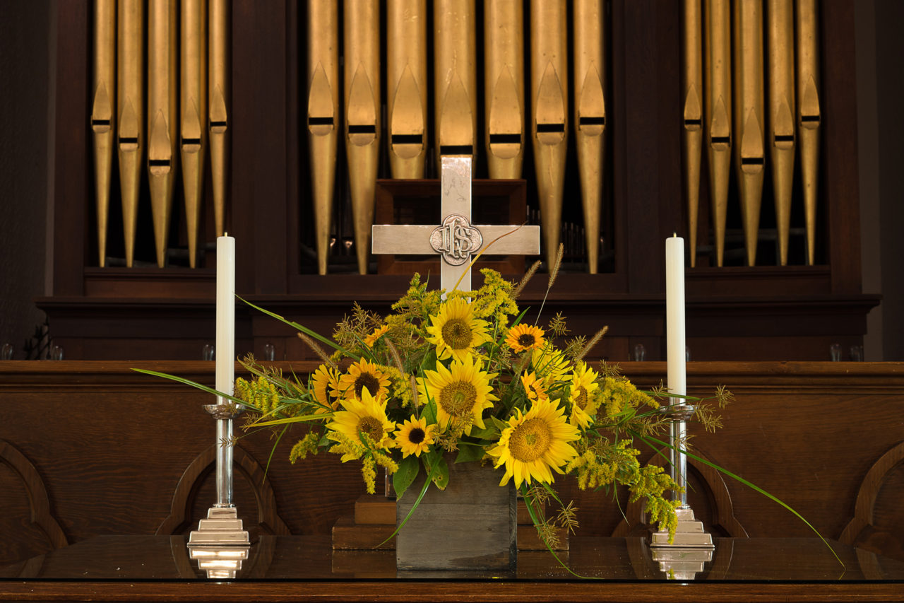 2016 – Altar Flowers – Sunflowers