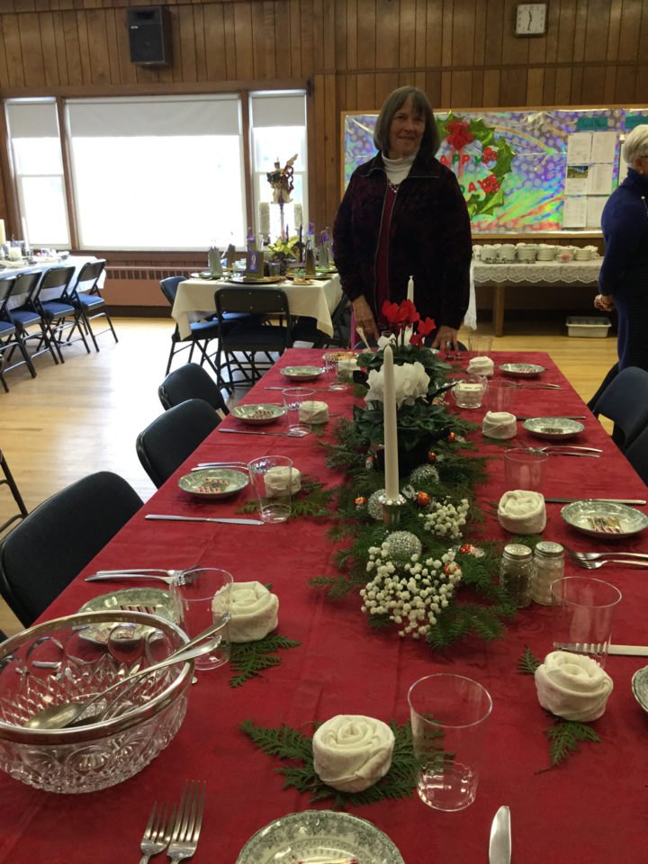 "2016 – ""Judy's Table"""