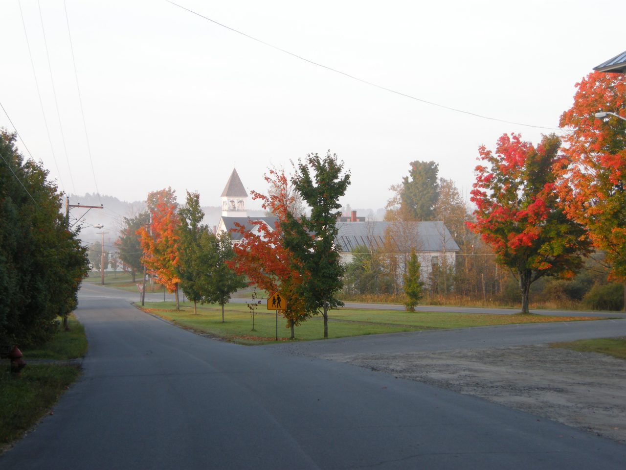 2008 – Fall foliage in town