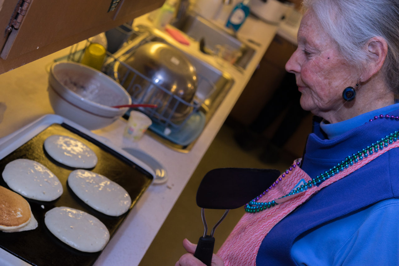 Cilla and the perfect pancakes!