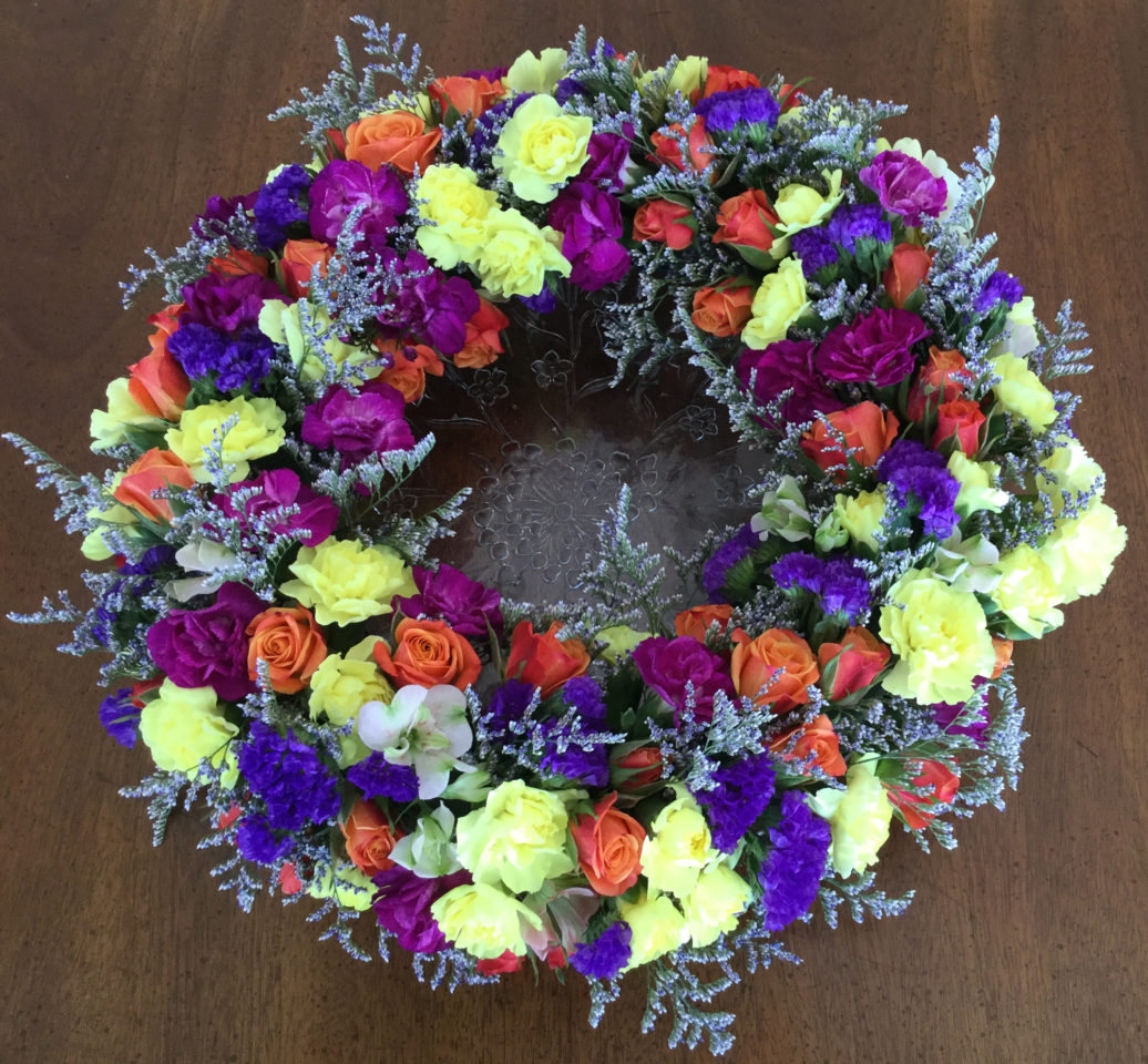2018 – Altar Flowers – Easter Bouquet